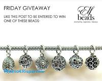 Logo Partecipa gratis al ''Friday Giveaway'' e vinci uno degli eleganti beads disponibili