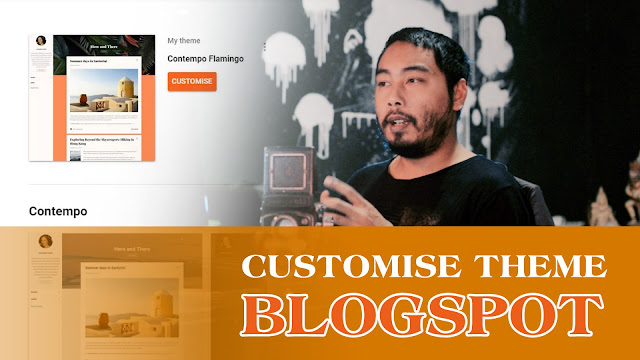 Cara Customise Template Blogger | Contempo Flamingo (Basic Customise)