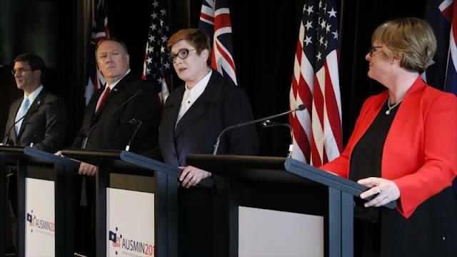 Australia rechaza despliegue de misiles de EEUU en su territorio
