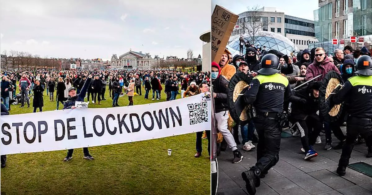 Court In The Netherlands Orders The CoVid-19 Lockdown Curfew To Be Ended Immediately