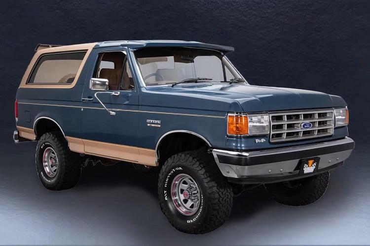 Xem quá trình tiến hóa của Ford Bronco kể từ năm 1966