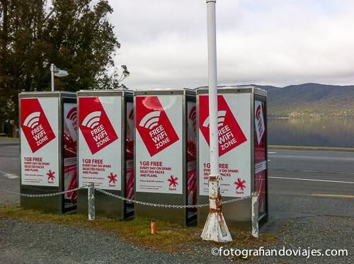 Wifi gratis en Nueva Zelanda