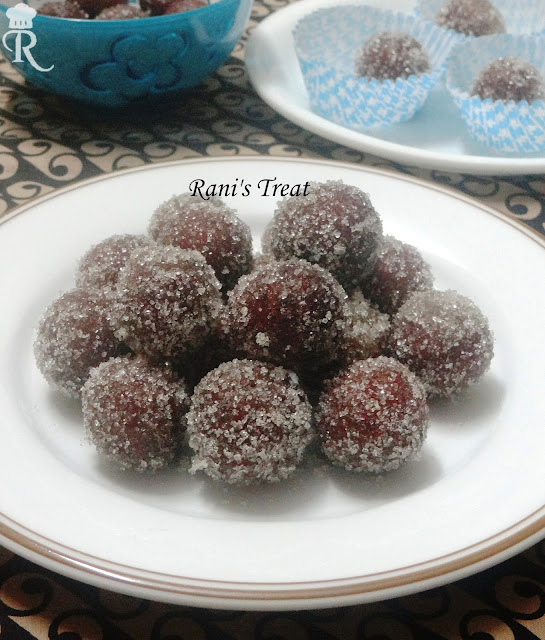 how to make dry gulab jamun