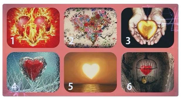 Выберете сердце, и узнайте о ваших душевных тайнах