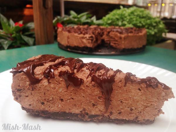Шоколадов чийзкейк без печене