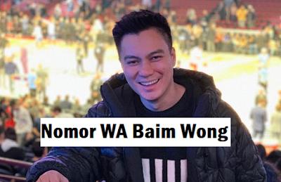 Nomor Whatsapp Baim wong