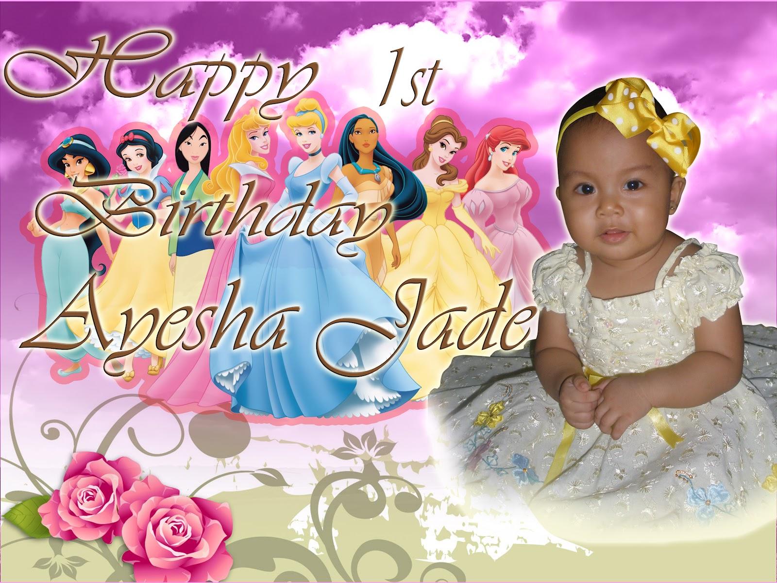 Ayesha S Birthday Tarp Jmvision