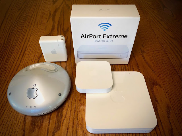 AirPort Routers Dropped off by Apple
