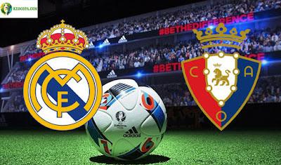 مشاهدة مباراة  ريال مدريد وأوساسونا