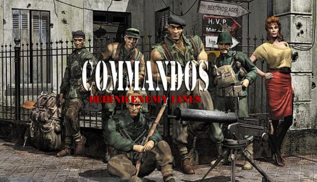 Commandos Behind Enemy Lines PC Game Free Download