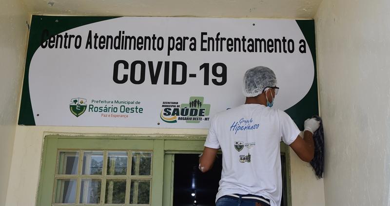 Prefeitura de Rosário Oeste vai inaugurar centro de atendimento ao Covid19