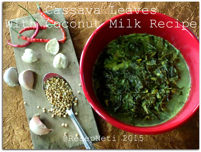 cassava leaves recipe @ResepNeti 2015