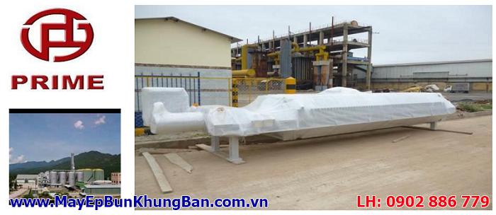 Vận chuyển và bàn giao máy ép bùn khung bản Việt Nam cho Nhà máy PRIME tại Quảng Nam
