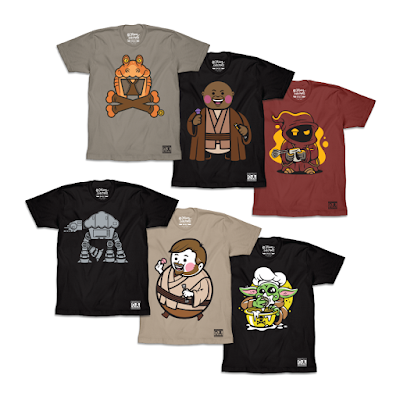 Star Wars Day 2021 T-Shirt Collection by Johnny Cupcakes