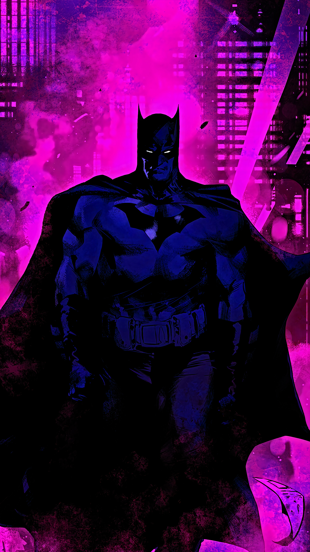 batman dc superhero amoled black wallpaper