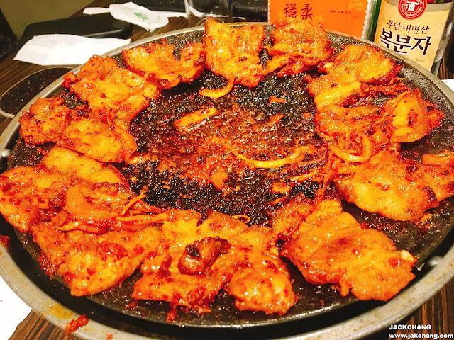 spicy roast pork belly