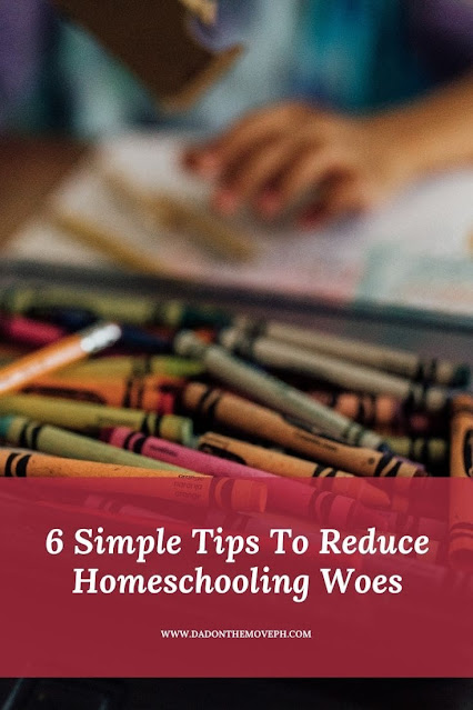Simple tips to reduce homeschooling woes