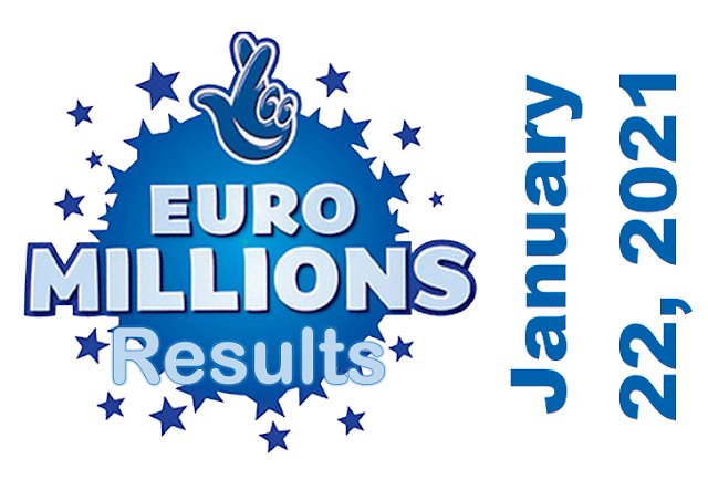 EuroMillions Results for Friday, January 22, 2021