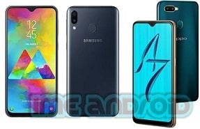 Perbandingan oppo a7 dan Samsung m20