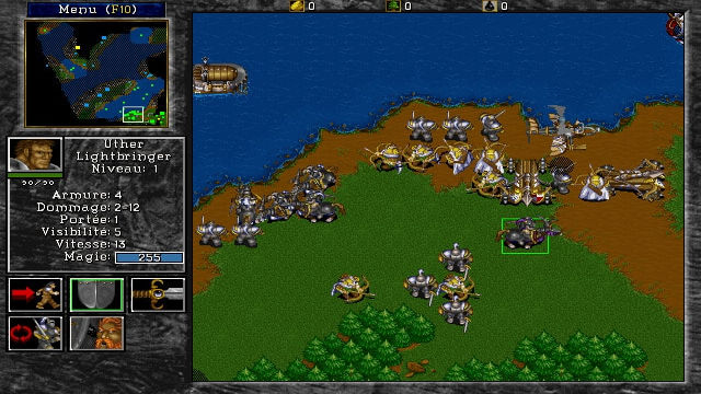 Warcraft II: Tides of Darkness (Demo) - Image du Jeu