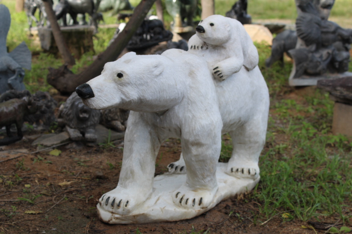 Mother & Child (Polar Bears)