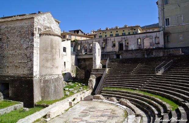 Spoleto, Teatro romano