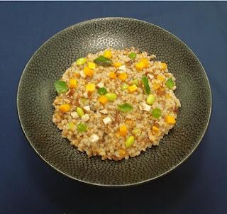 Buckwheat Mushroom & fava beans Risotto