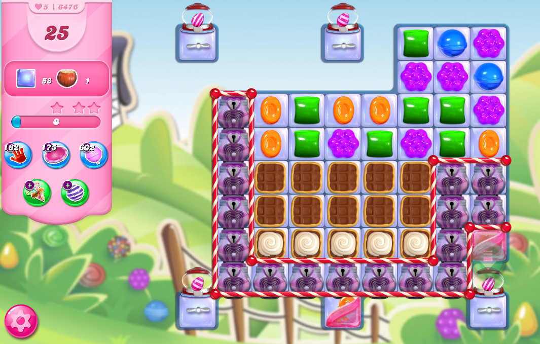 Candy Crush Saga level 6476