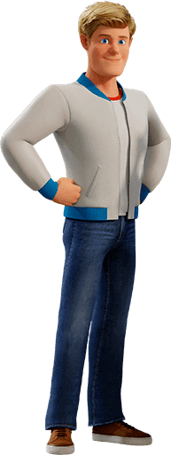 Fred Jones (Scoob) (PNG) by jacobstout