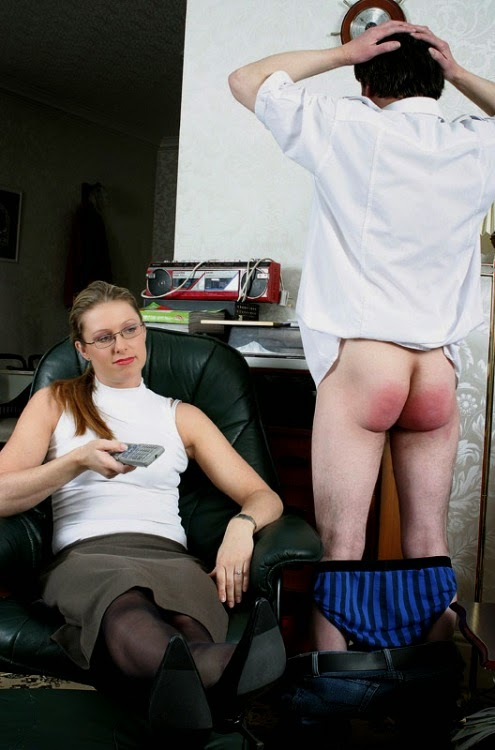Remarkable Dominant wife spank husband are