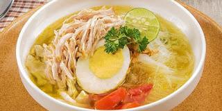 Resep Soto Ayam Bening khas Betawi