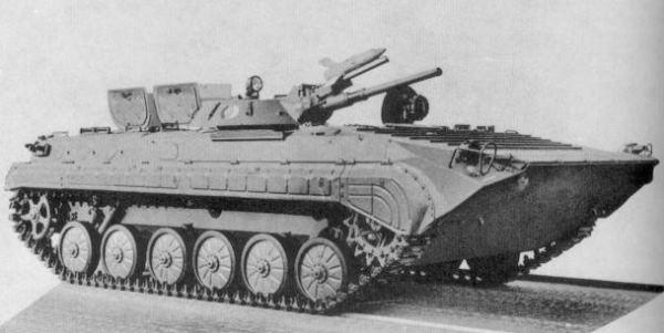 BMP-1 Veículo de Combate de Infantaria (Kurganmashzavod)