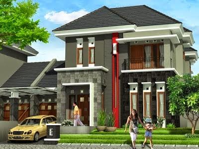 Desain Rumah Minimalis Ukuran 7x12 Meter  model rumah ukuran 7 x 12 model rumah terbaru model