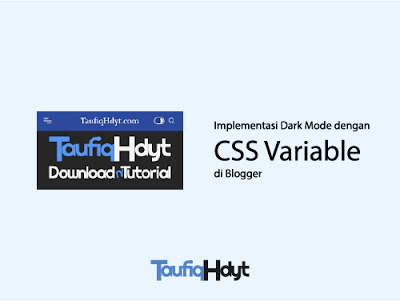 dark mode blogger css variable