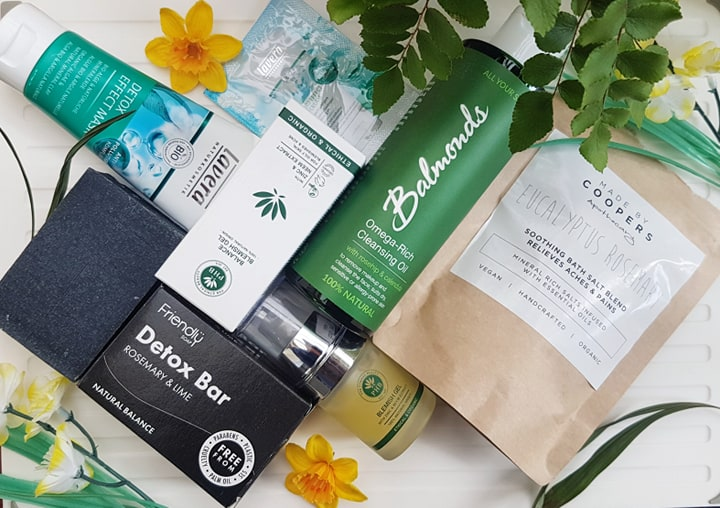 The Natural Beauty Box Review - Cleanse Edit - vegan subscription box