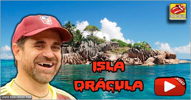 """El Demente Lacava inaugura la """"Isla Drácula"""" en Puerto Cabello"""
