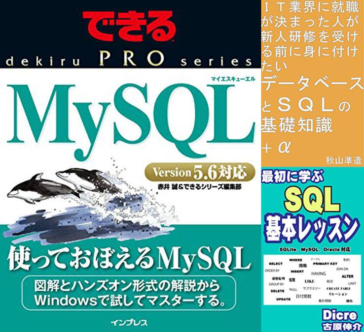Kindle Unlimited対象のSQL技術書抽出リストを見る