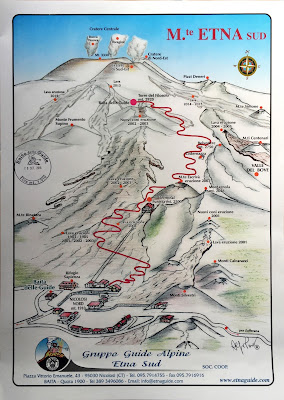 Mount Etna south route - by the Gruppo Guide Alpine Etna Sud