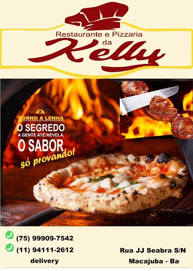 Chegou em Macajuba a nova Pizzaria e Restaurante da Kelly, venha conferir a pizza que é sucesso na cidade!