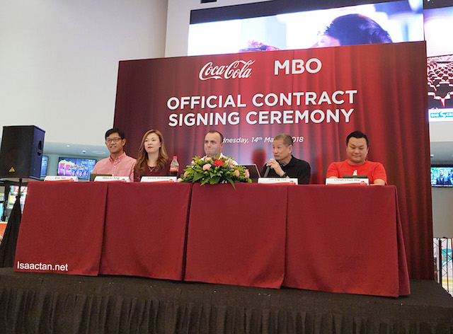 Official Contract Signing Ceremony