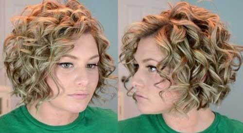 New Short Curly Hairstyles For Girls
