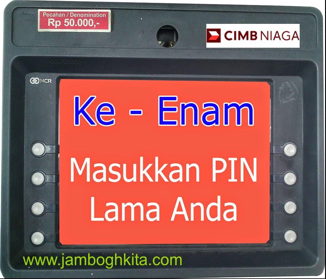 Ganti PIN Kartu Kredit CIMB Niaga