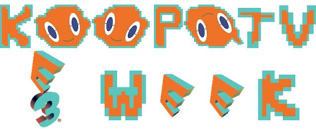 KoopaTV E3 Week logo banner Rotom Pokémon Sun Moon