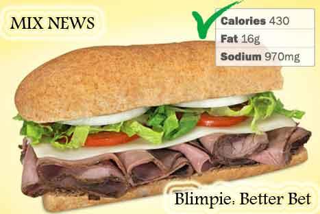 Diet,debris,wors,double grip,sandwiches,Blimpie: Better Bet , Diet debris and worst double grip sandwiches