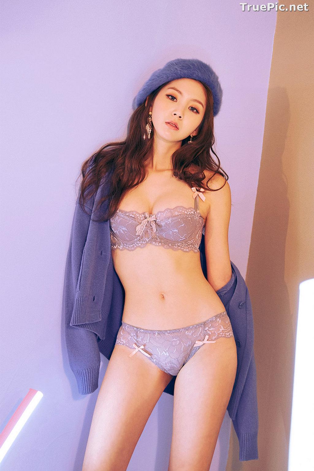 Image Korean Fashion Model - Lee Chae Eun - SaLon De Lingerie Collection - TruePic.net - Picture-5