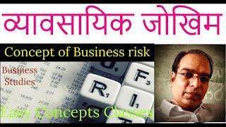 Online Test | व्यावसायिक जोखिम  | Concept of Business Risk | Business Studies