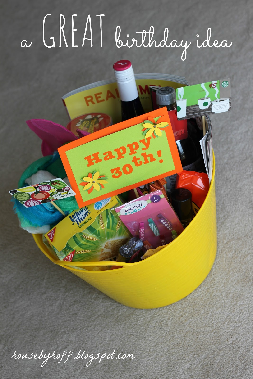 30th Birthday Present Ideas For Her Examples And Forms