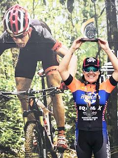 Mountain bike feminino da Ilha nas primeiras colocações na Copa Soul , disputada no Paraná