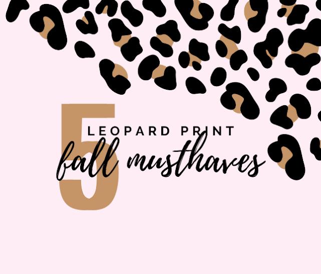 Monogrammed Leopard Must-Haves