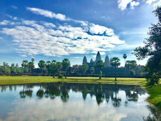 Angkor Wat in Siem Reap Cambodia